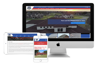 Tulsa Roofing Web Design